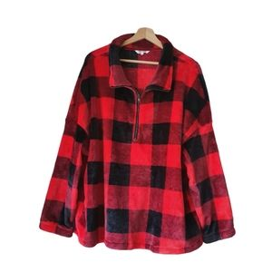 🤑Amaryllis Lumberjack comfy Lady Sweater size 1XL